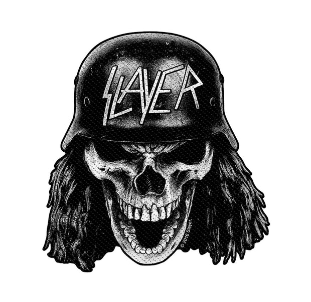 Slayer Wehrmacht Skull Die Cut Patch