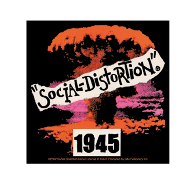 Social Distortion 1945 Sticker