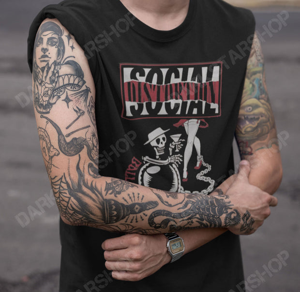 Social Distortion Ball and Chain tour shirt with dates