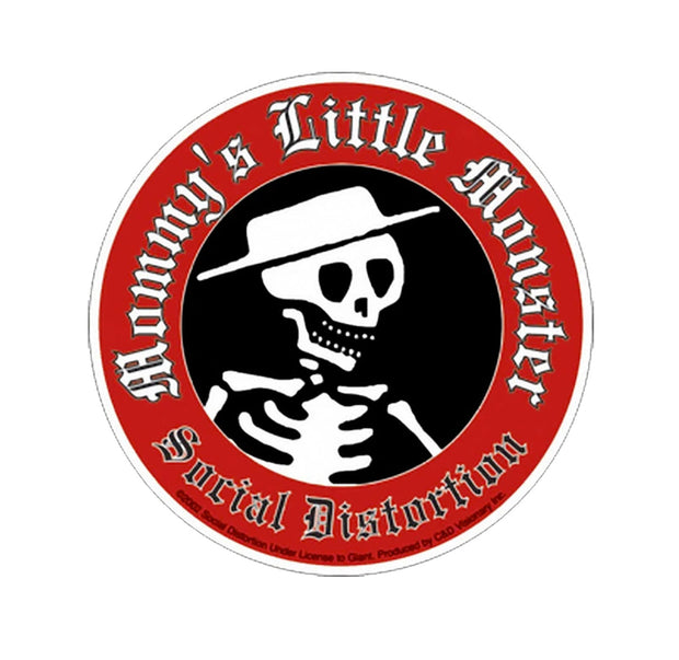 Social Distortion Little Monster Sticker