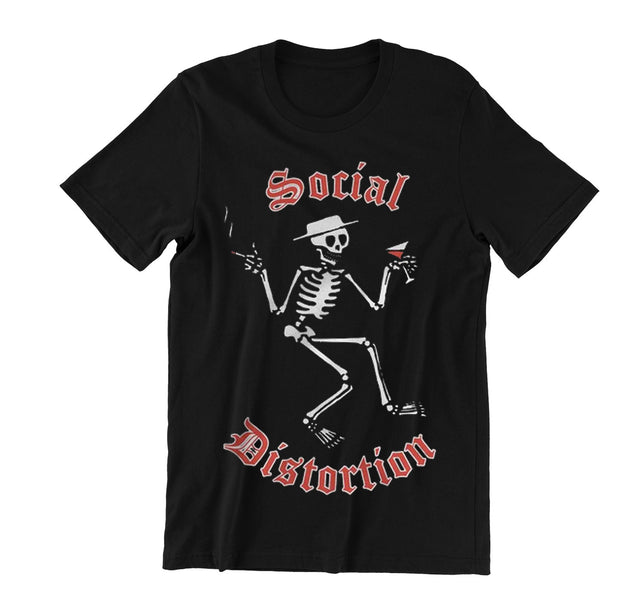 Social Distortion Skelly Shirt