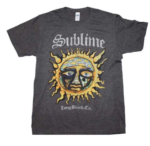 Sublime Long Beach Sun Logo Shirt