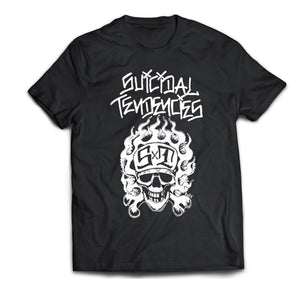 Suicidal Tendencies Skater Skull Shirt