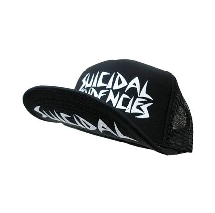Classic OG Suicidal Tendencies Logo Skater hat. Large logo on front with Suicidal on underside of brim.