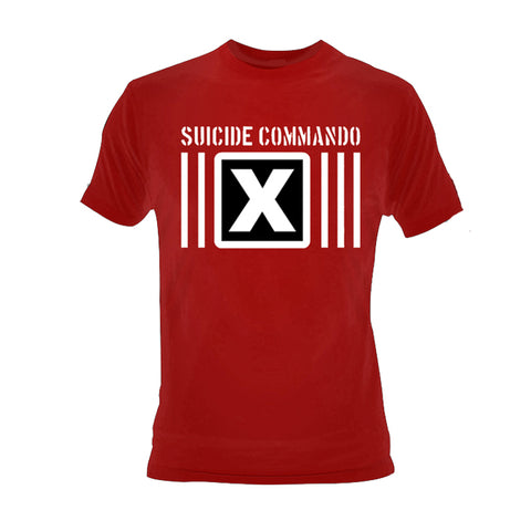 Suicide Commando Hate Me Red Shirt