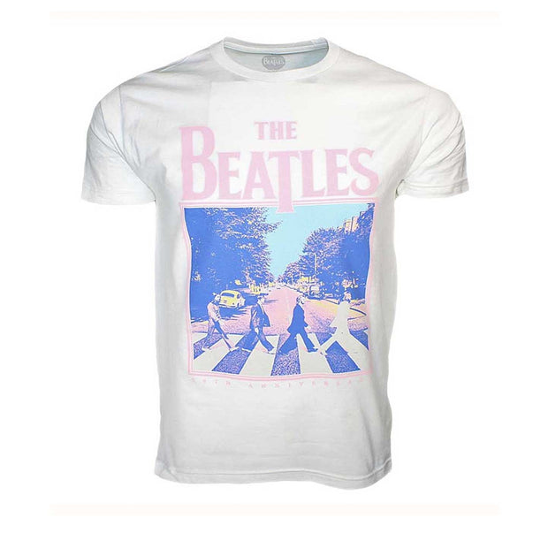The Beatles Abbey Road 50th Anniversary White Shirt