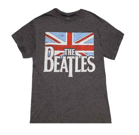 The Beatles British Flag Shirt