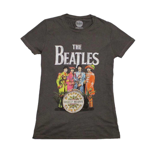 The Beatles SGT Peppers Lonely Hearts Womens Shirt
