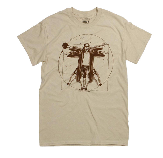 The Big Lebowski Vitruvian Shirt