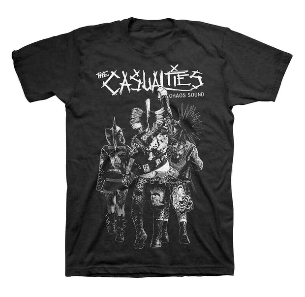 The Casualties Chaos Sound Shirt