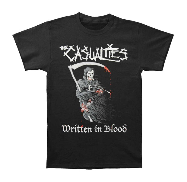 The Casualties Written in Blood Shirt