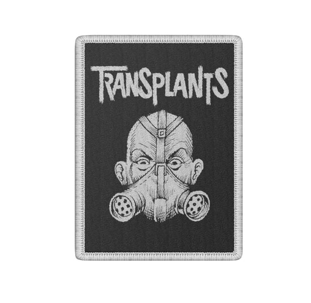 Transplants gas mask logo patch