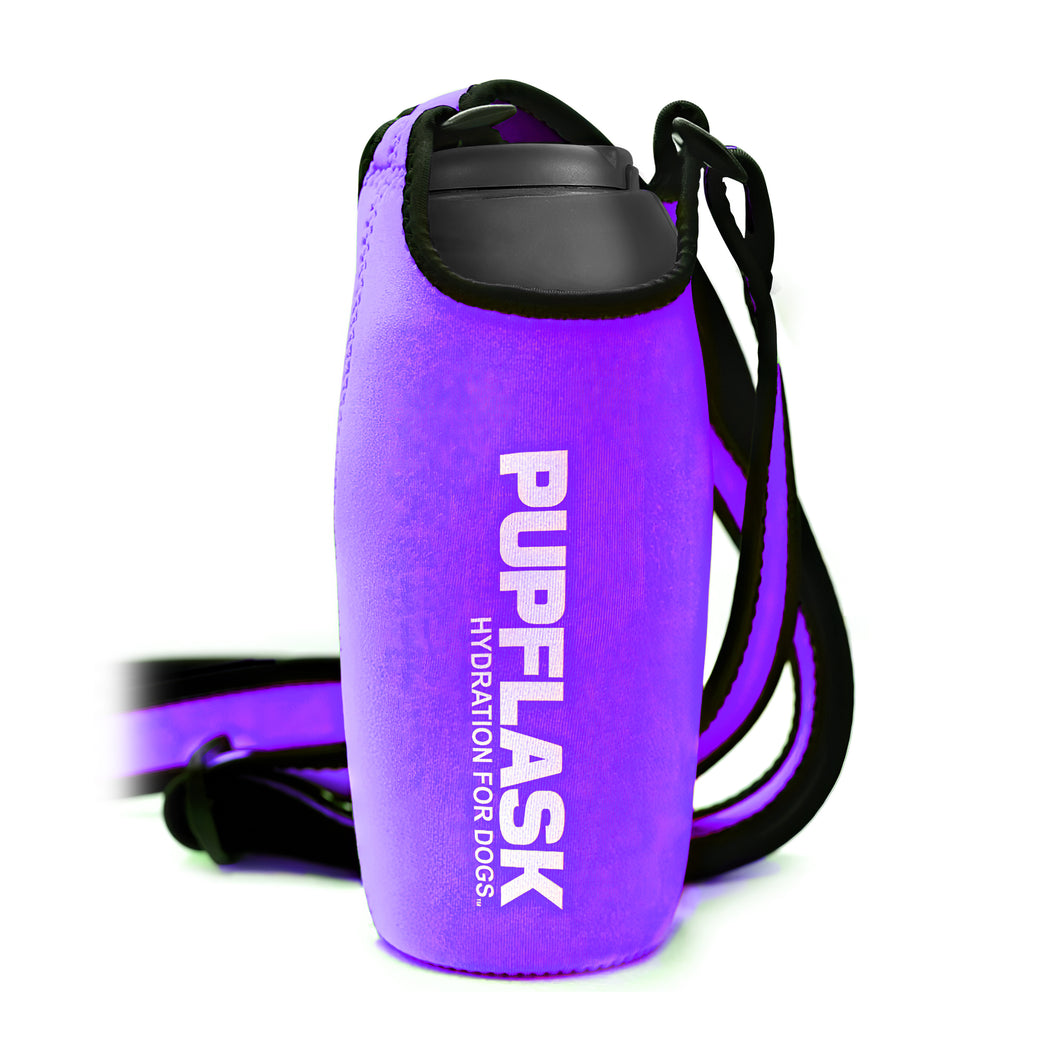 FREE PupFlask Insulated Bottle Sling (27 OZ, Ultra Violet)