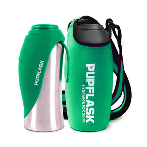 PupFlask Water Bottle and Sleeve