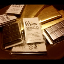 Load image into Gallery viewer, 2-1 Oz HEMP Chocolate bars. Bulk pricing options available.