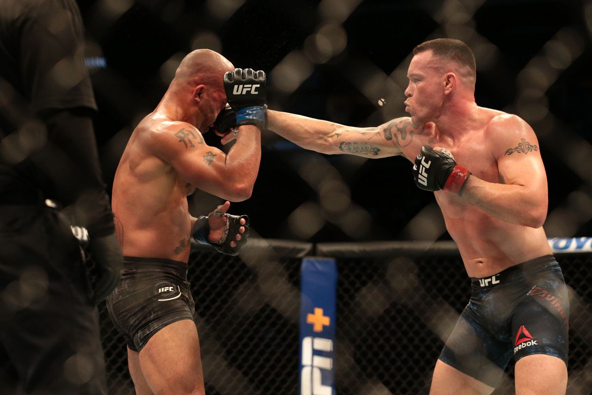 Colby Covington vs Robbie Lawler la domination