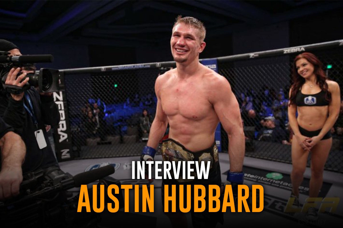 Interview Austin Hubbard UFC fighter