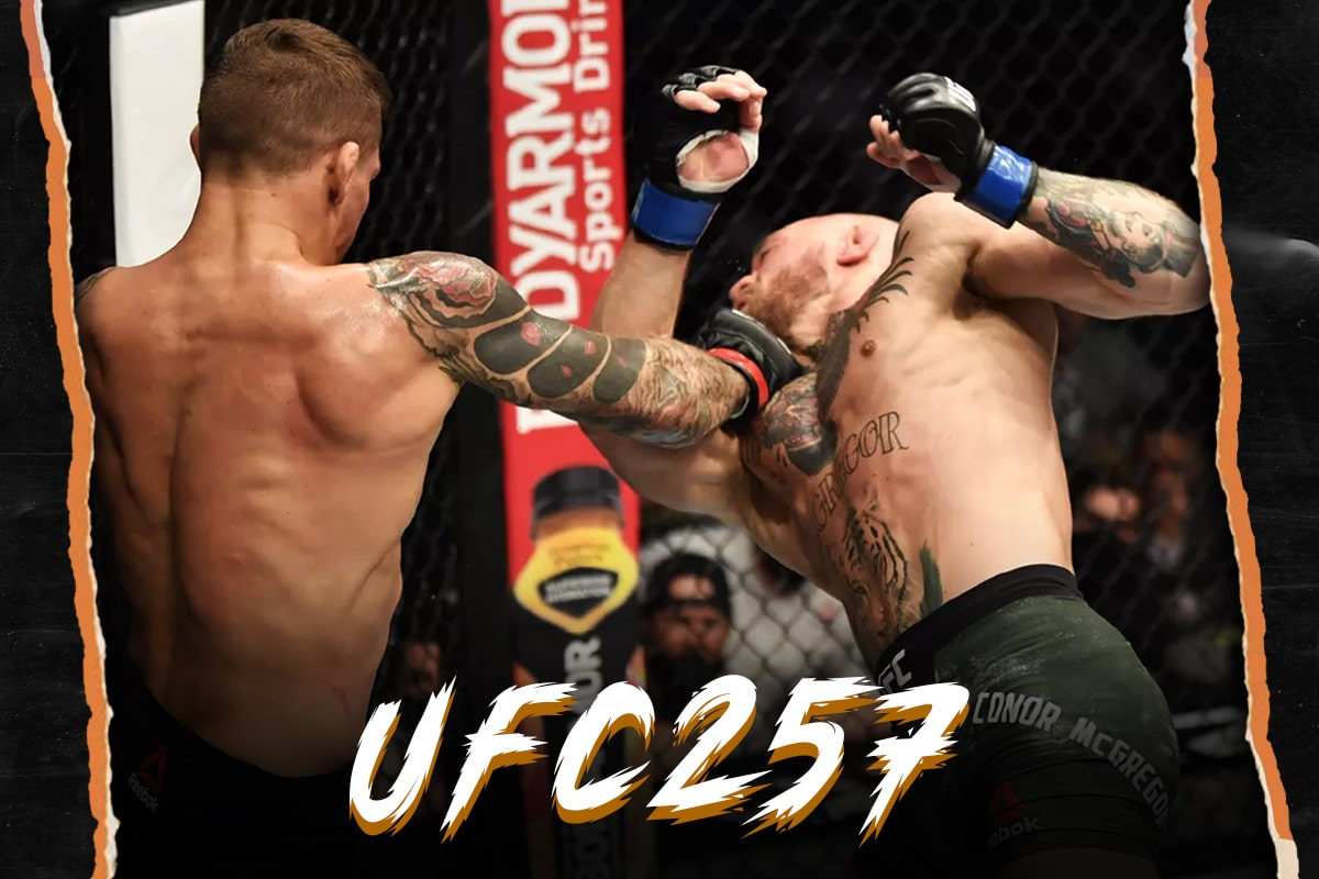 Dustin Poirier vs Conor McGregor 2 UFC 257 Poirier met KO McGregor au second round
