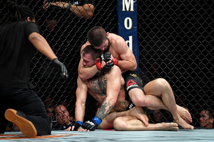 Conor McGregor s'incline face au champion Khabib Numagomedov
