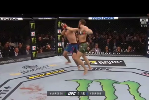 Uppercut McGregor vs Cerrone