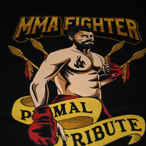 Sweat MMA Fighter design zoom