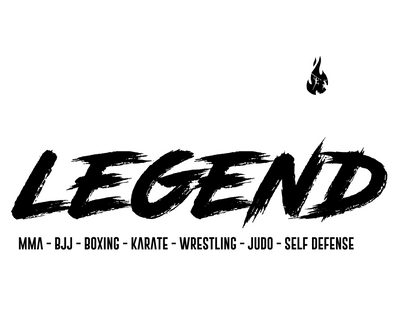 Sweat MMA Legend noir et blanc