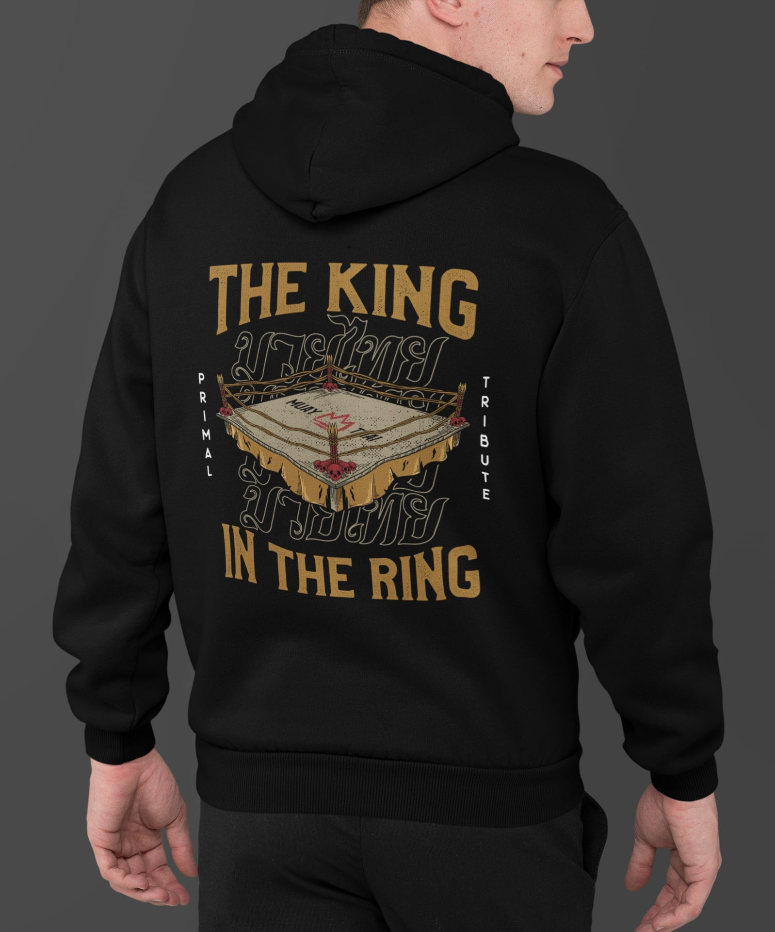 SWEAT 'THE KING IN THE RING' NOIR