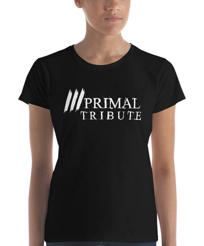 t shirt mma Primordial femme blanc face