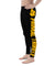 Fight Spats pantalon de compression MMA JJB Synergy Jaune de gauche