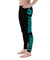 Fight Spats pantalon de compression MMA JJB Synergy bleu de gauche