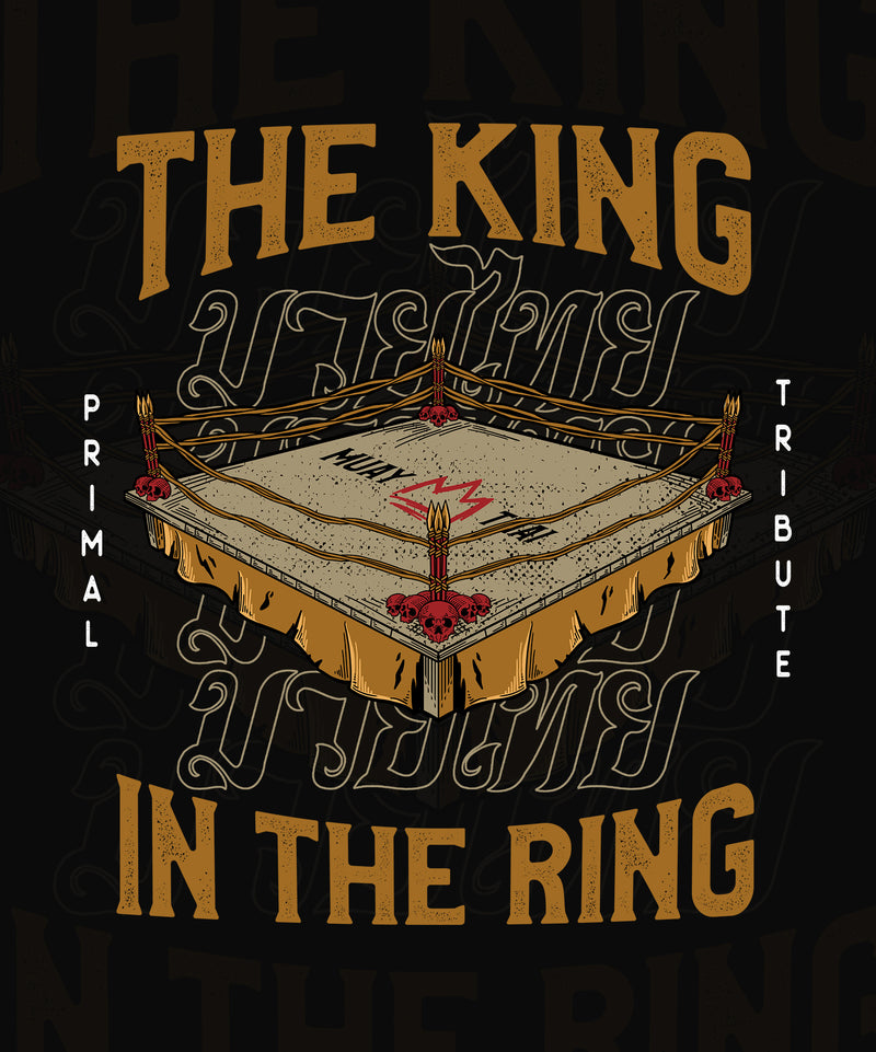 CREWNECK 'THE KING IN THE RING' NOIR