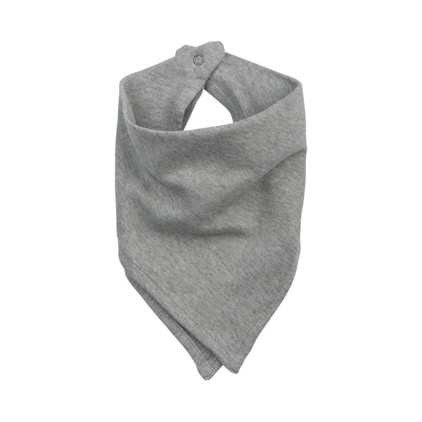 Bandana Bib Heather Gray