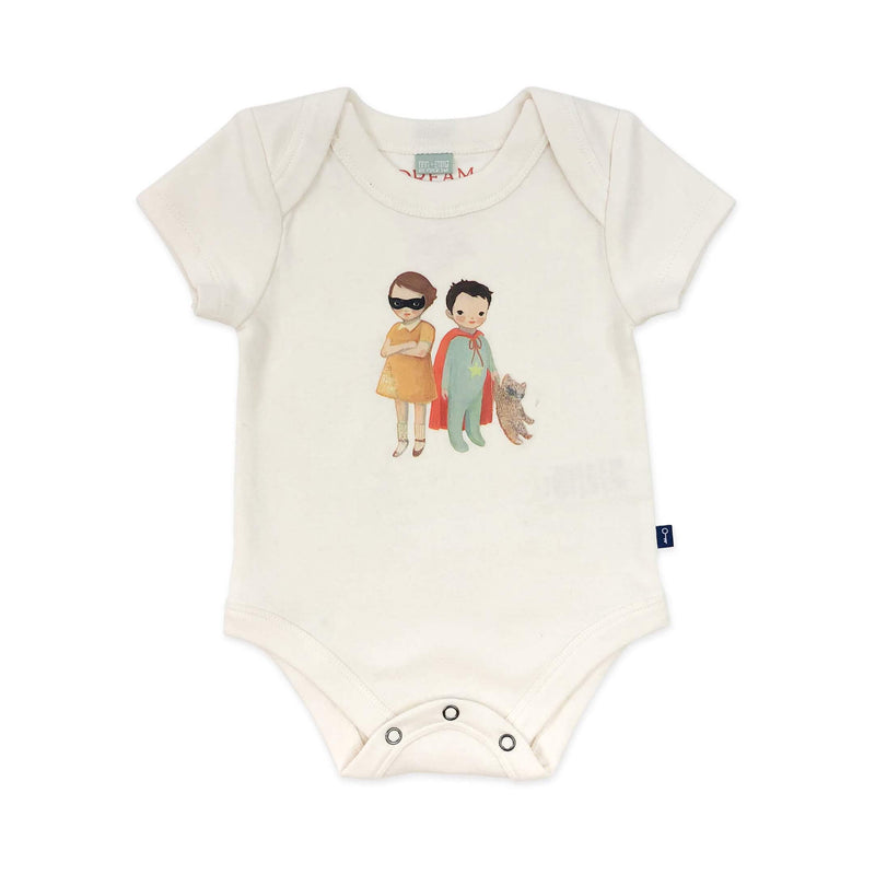 Finn + Emma Gift Set Emily Winfield Martin Hero Kids Bodysuit