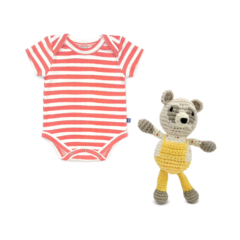 Gift Set Stripes & Raccoon