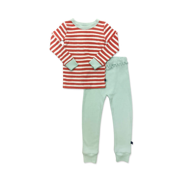 Pajamas Red & White Stripe
