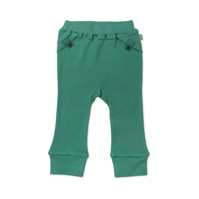 Straight Leg Pants Aloe Green