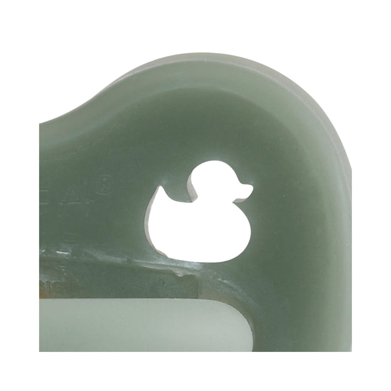 Hevea Pacifier, Orthodontic – Moss Green
