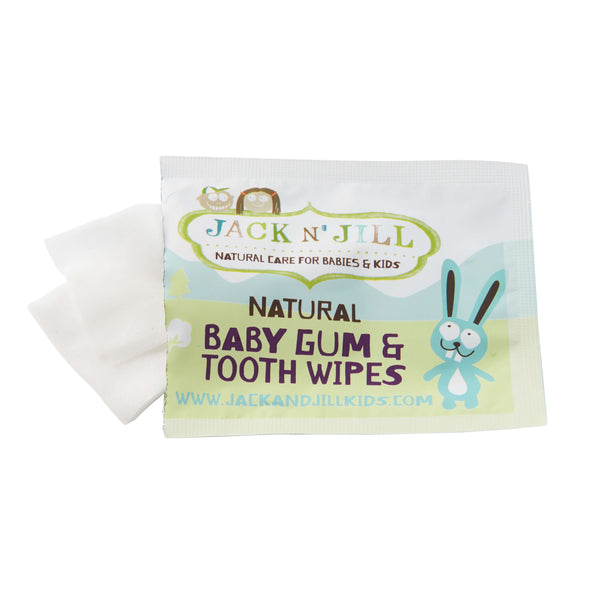 Baby Gum & Tooth Wipes - 25 Pack