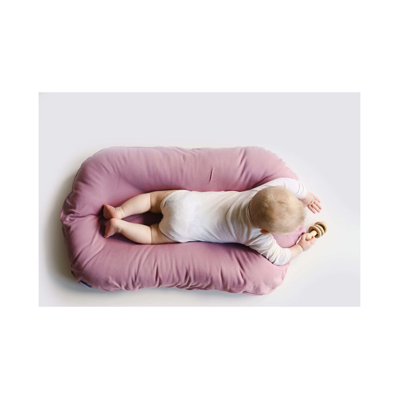 Snuggle Me Organic Patented Sensory Lounger for Baby Bloom
