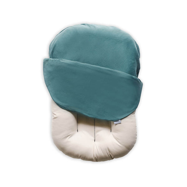 Snuggle Me Organic Patented Sensory Lounger for Baby Moss