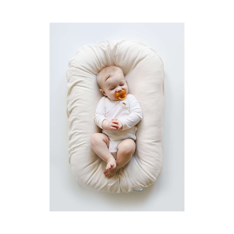 Snuggle Me Organic Patented Sensory Lounger for Baby Natural