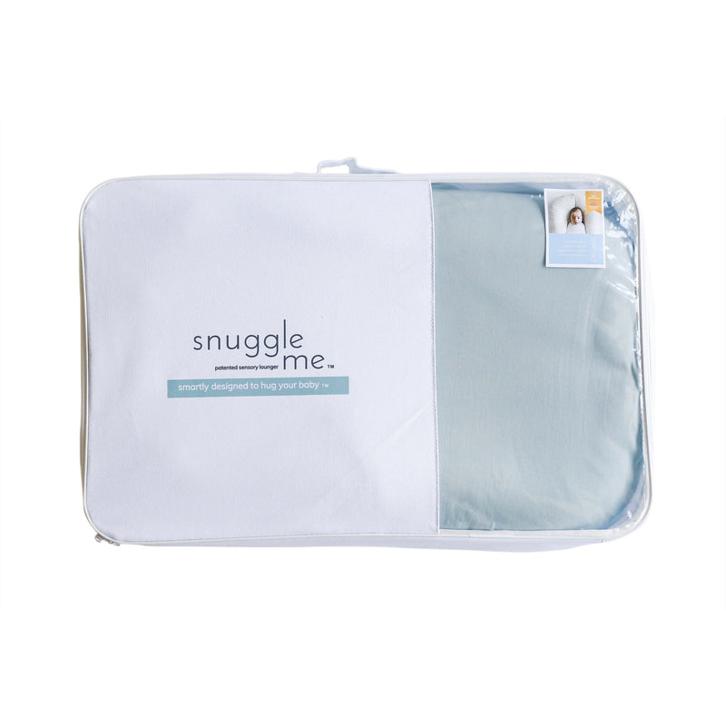Snuggle Me Organic Patented Sensory Lounger for Baby Skye