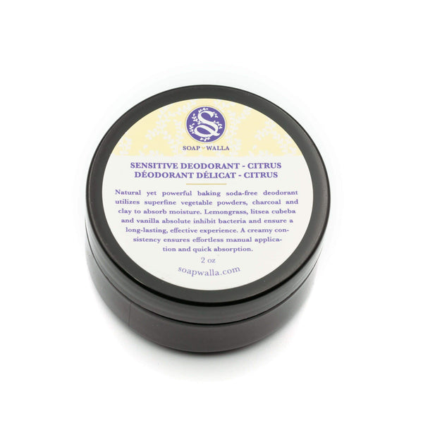 Citrus Sensitive Deodorant Cream