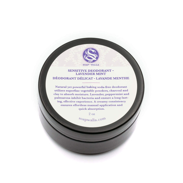 Lavender Mint Sensitive Deodorant Cream