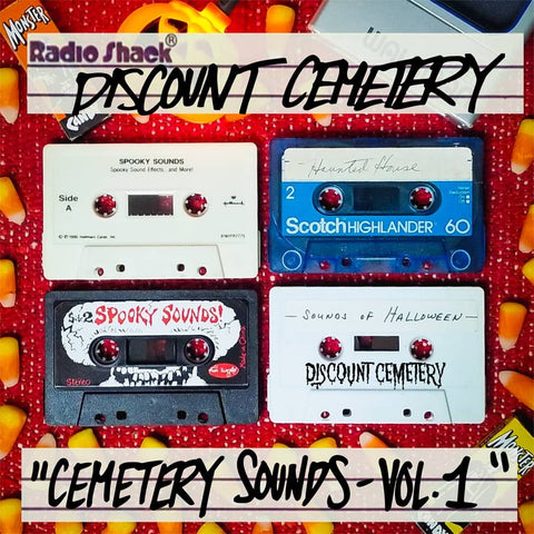 Discount Cemetery Spotify Playlist Cover
