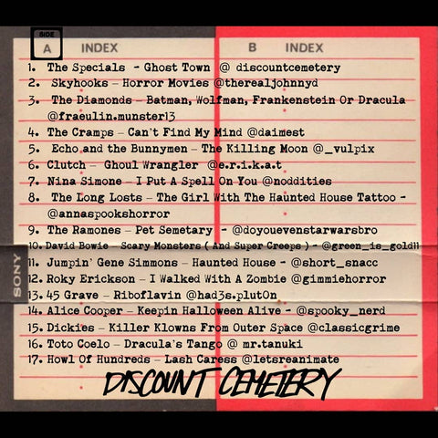 Cemetery Sounds Vol 1 Track List