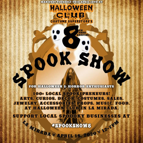 Spook Show 8 by Halloween Club Event Flyer