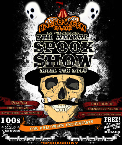 Spook Show 7 Flyer