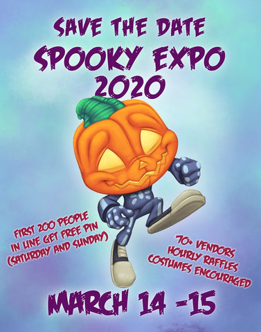 SPOOKY EXPO 2020 Frank and Sons Spooksieboo