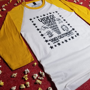 VIDEO EXCITEMENT! mellow yellow raglan - Discount Cemetery